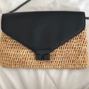 Loeffler Randall crossbody leather bag